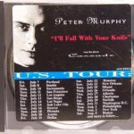 Peter Murphy I'll Fall With Your Knife Single Cover