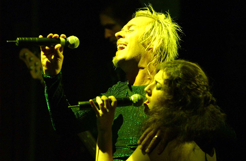 Peter Murphy and Sarah Fimm